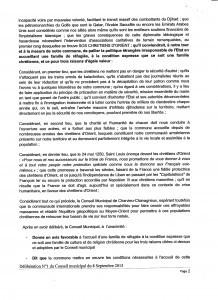 délibération 2 du 8 septembre 2015